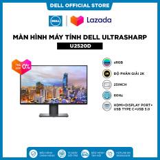 [SIÊU SALE VẪN NHIỆT_TRẢ GÓP 0%] Màn Hình Máy Tính Dell UltraSharp U2520D sRGB 25inch 2K IPS 60Hz 5ms HDMI+Display Port+USB Type C+USB 3.0