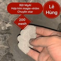 Túi 250g bột MgAl 200mesh hợp kim magie nhôm.