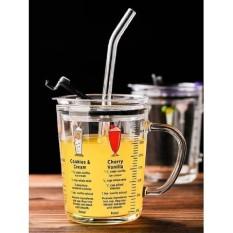 Ly nước, ly thủy tinh có vạch chia ml, cốc sữa, cốc ăn sáng, cốc có nắp, cốc nước thủy tinh
