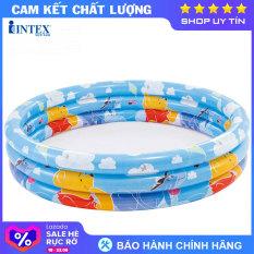 Bể bơi phao 3 tầng 1m47-Gấu Pooh INTEX 58915 – Hồ bơi cho bé mini, Bể bơi phao trẻ em