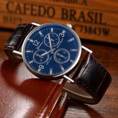 (Tặng kèm hộp và pin) Đồng hồ thời trang nam Geneva LB487