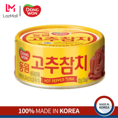 Cá Ngừ Hộp Sốt Cay Nhẹ Dongwon 100g