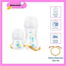 [FREESHIP+QUÀ TẶNG]Bình sữa KiChiLaChi cổ rộng ALIDA KIDS MN 32 125ml /260ml Cho bé tặng vòng dâu tằm 19k