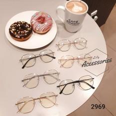 Gọng kính cận thời trang Gọng kim loại 2969