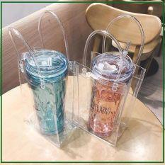 Túi trong suốt đựng ly giữ nhiệt, ly trà sữa (không kèm ly)