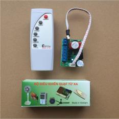 Bộ Mạch và Điều Khiển Từ Xa ứng dụng lắp cho các loại quạt thường thành quạt điều khiển (VN).