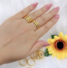 Nhẫn nữ đẹp, nhẫn mạ vàng thật cao cấp nhẫn chỉ mạ vàng thật cô dâu đeo ngày cưới xinh đẹp thời trang đeo sang trọng quý phái TRANG SỨC Gado N108 – đeo đi tiệc đi chơi làm công sở cực sang chảnh