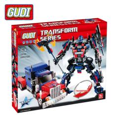 Hộp đồ chơi lắp ráp Lego – GUDI (377 chi tiết) KINGKONG optimus (MS 8713)