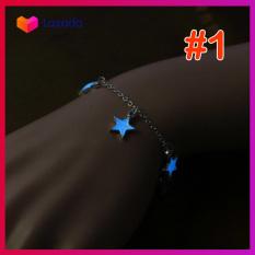 Lắc chân dạ quang Ngôi sao / trái tim / bông hoa LUCKY STAR – KAShop thiết kế tinh tế, đem đến vẻ sang trọng mà lại dễ thương cho phái đẹp