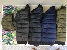 Áo khoác nam hàng xuất khẩu dày 3 lớp
