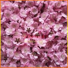 [TẶNG LÁ, KẼM BUỘC] 0.5kg Hoa Đào Giả, Hoa Mai Giả Rời {LOẠI ĐẸP} Màu Hồng Phấn, Hồng Cánh Sen, Màu Vàng Monisa Gift – Mang Mùa Xuân Tơi Đẹp Đến Mọi Nhà