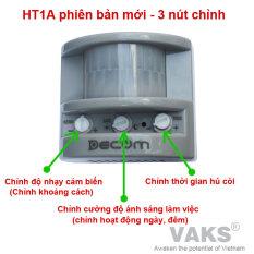 Báo động hồng ngoại HT1A-S phiên bản mới – 3 nút chỉnh