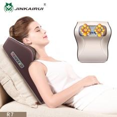 Jinkairui Máy mát xa cổ vai gáy và các huyệt trên cơ thể thích hợp sử dụng tại nhà và trên xe hơi – INTL