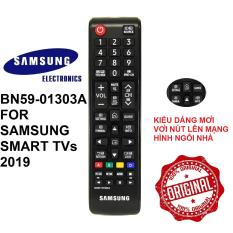 Remote điều khiển tivi Samsung smart BN59-01303A (Model 2019 – Tặng pin)