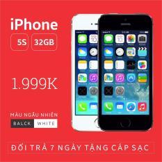 Điện thoại Chính hãng Apple giá rẻ IPHONE 5 – 16GB phiên bản quốc tế – Bao đổi trả không điều kiện (Màu ngẫu nhiên trắng/đen)