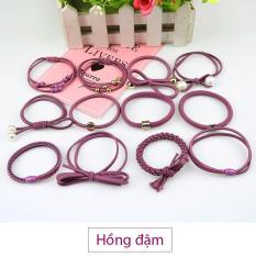 Sét 12 dây buộc tóc Hàn Quốc