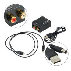 Bộ chuyển đổi âm thanh tivi 4k Optical sang Av R/L loa , amply ( Hàng Hộp )