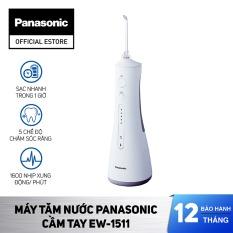 Máy Tăm Nước Cầm Tay Panasonic Công Nghệ Siêu Âm EW1511 – Bảo Hành 12 Tháng – Hàng Chính Hãng