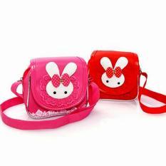Túi đeo chéo thỏ ren đáng yêu cho bé
