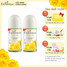 [16.4 QUÀ NGẪU NHIÊN đơn 129K] Combo 2 Lăn khử mùi nước hoa Enchanteur Charming 50ml/ Chai