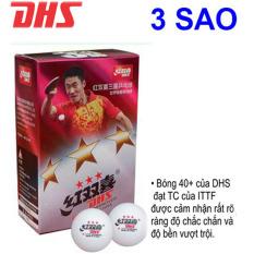 [Lấy mã giảm thêm 30%]Quả Bóng Bàn DHS 3 sao 40+ (Hộp 6 Quả Đạt Chuẩn Thi Đấu Tiêu Chuẩn ITTF)