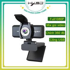 Webcam HXSJ S4 Pro 4K với công nghệ cao truyền tải âm thanh và hình ảnh trung thực, sắc nét – BH Chính Hãng 12 Tháng