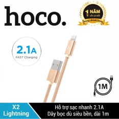 Cáp sạc HOCO X2 USB to Lightning cho iPhone/iPad sạc nhanh dài 1m/2m iPhone 7Plus iPhone XS Max,iPhone 11,11Pro ,Max, 8Plus, 6Plus, X…