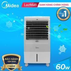 Midea quạt điều hòa hẹn giờ điều khiển từ xa đa chức năng 60W – tự động tắt bơm khi hết nước – dung tích 15L – MIDEA AC120-15F