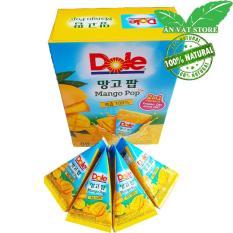 Kem Trái Cây Nguyên Chất Nhập Khẩu Hàn Quốc 1 Hộp 8 Bịch 63ml (bỏ tủ đá hoặc uống trực tiếp ) – Trái Xoài – Ăn Vặt Store