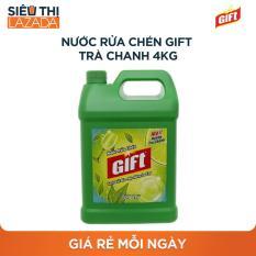 Nước rửa chén Gift Trà Chanh 4kg