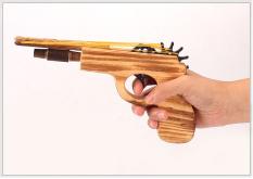 Đồ chơi mô hình đạo cụ bắn thun bằng gỗ