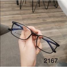 Gọng kính cận vuông nhựa dẻo cho cả nam và nữ 2167 – Tiệm kính Candy