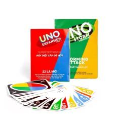 Combo bài Uno + 2 bộ mở rộng #1 Expansion #2 Storm
