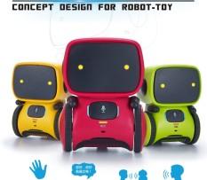 [Mới Nhất] Robot Thông Minh Nhảy Lệnh Bằng Giọng Nói 3 Ngôn Ngữ Phiên Bản Điều Khiển Cảm Ứng Đồ Chơi Tương Tác Robot