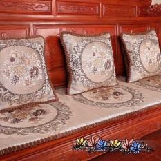 Thảm ghế Hoàng Gia Tây Âu loại 1 size đủ 1m7x57 ( mầu nâu )