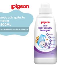 Nước giặt quần áo trẻ em Pigeon chai 500ml – HSD 06/2022
