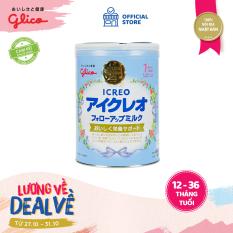 [TẶNG COMBO 12 MIẾNG TÃ PAMPERS 120K – ĐƠN 399K] Sữa Glico Icreo Follow up Milk số 1 820g dành cho trẻ từ 9 – 36 tháng – 100% nội địa Nhật Bản – HSD tối thiểu 10 tháng