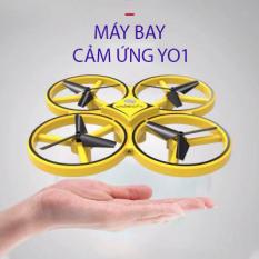 [ HÀNG HOT 2020 ] Lựa Chọn Hàng Đầu Của Đồ Chơi Điện Tử-Máy Bay Mini Điều Khiển Từ Xa Cao Cấp-Độ Bền Cực Cao, Máy Bay Drone Y01 Điều Khiển Cảm Biến Tay Thông Minh, Khả Năng Giữ Độ Cao Cố Định, Nhào Lộn 360 Độ Cực Tốt