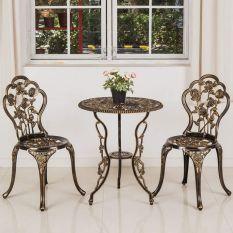 bàn ghế sân vườn ban công nhôm đúc