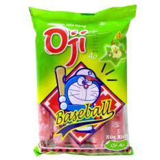 Xúc xích tiệt trùng Oji Baseball vị gà bịch 5 cây x 35g