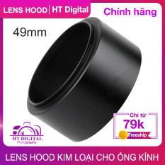 Lens Hood Vặn Răng 49mm – Loa Che Nắng Cho Ống Kính