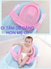 Giá đỡ tắm bé, lưới tắm chữ T cho trẻ sơ sinh, trẻ nhỏ, êm ái, thoáng mát – Tshop90