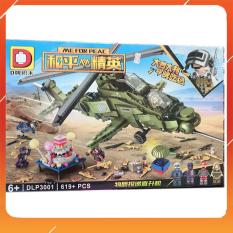 Đồ Chơi Noel – Mô Hình Lắp Ráp Trực Thăng Dlp3001 – Đồ Chơi Trẻ Em Toy Mart