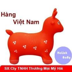 Thú Nhún Bơm Hơi Có Nhạc Hình Hươu Đáng Yêu Cho Bé Hàng Việt Nam KMMZ91