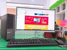 Bộ máy tính Văn phòng Dell Optiplex (Core i5 4570 – Ram 8Gb – SSD 120Gb) Màn hình Cong 24 inch – Tặng Bàn phím chuột – Chuyên dùng cho Công ty Doanh Nghiệp
