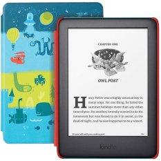 Máy đọc sách Kindle Kids Edition (phiên bản cho trẻ em) bộ nhớ 8GB, Cover độc đáo, FreeTime Unlimited, Audible