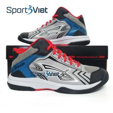 Giày bóng chuyền nam Sky Dream màu xanh trắng, giày chơi bóng chuyền, giày chơi thể thao bóng rổ nam cao cấp Sky Dream, giày thể thao bóng chuyền, bóng rổ, giày thể thao sneaker- Sportsviet