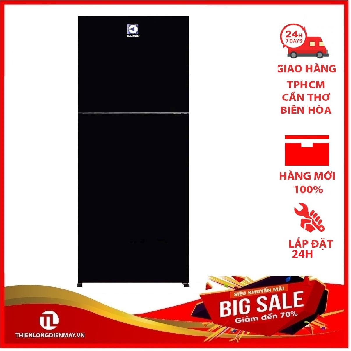 Tủ lạnh Electrolux Inverter 210 lít ETB2102BG