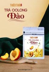 Trà Olong (Oolong, Ô long) đào Thiên Thái 100gr nguyên chất 100% trà tươi, tốt cho tim mạch, hỗ trợ giảm cân, giảm stress, nguyên liệu pha trà. trà sữa, trà đào, Olong kim tuyên, đảm bảo tiêu chuẩn chất lượng, Black Dragon Brown Tea