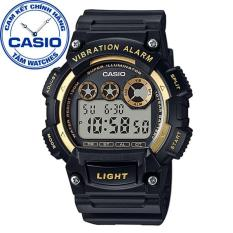 Đồng hồ nam dây nhựa Casio Standard Anh Khuê W-735H-1A2VDF